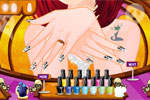 Play halloween nail design