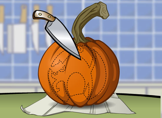 Play pumpkin carve