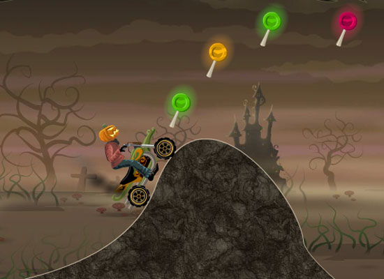 Play pumpkin head rider