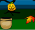 Play halloween pumpkin catch