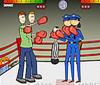 Image boxing 2 x 2 fighting
