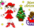 Play barbie christmas dress up